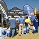 Morris Material Display Showcase