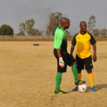 Benoni South African Police Services Soccer Team Match