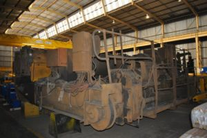 Rusty Crane Before Refurbishment