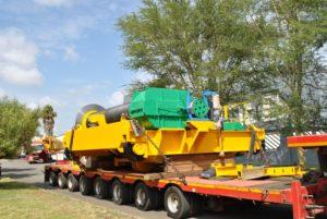 Morris Crane Refurbishment Machinery in Transit