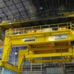 Morris Cranes at Hulamin Facility Closeup