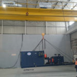 Morris / ABUS Cranes installed at Sandvik's central African facility