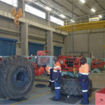 Morris / ABUS Cranes installation at Sandvik's central African facility