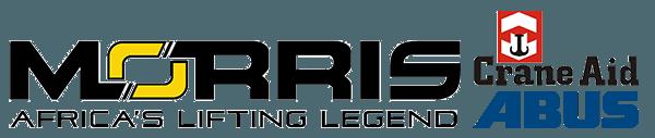 Website logos Morris Material, Crane Aid & Abus