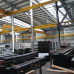 Morris ABUS cranes at Africa Steel and Tube