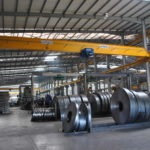 Single girder crane at Africa Steel and Tube