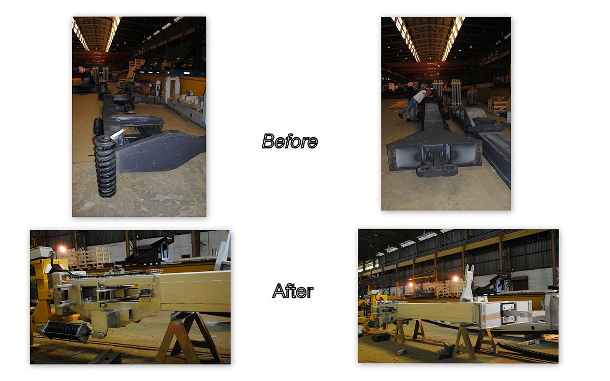 Fabrication Before and After